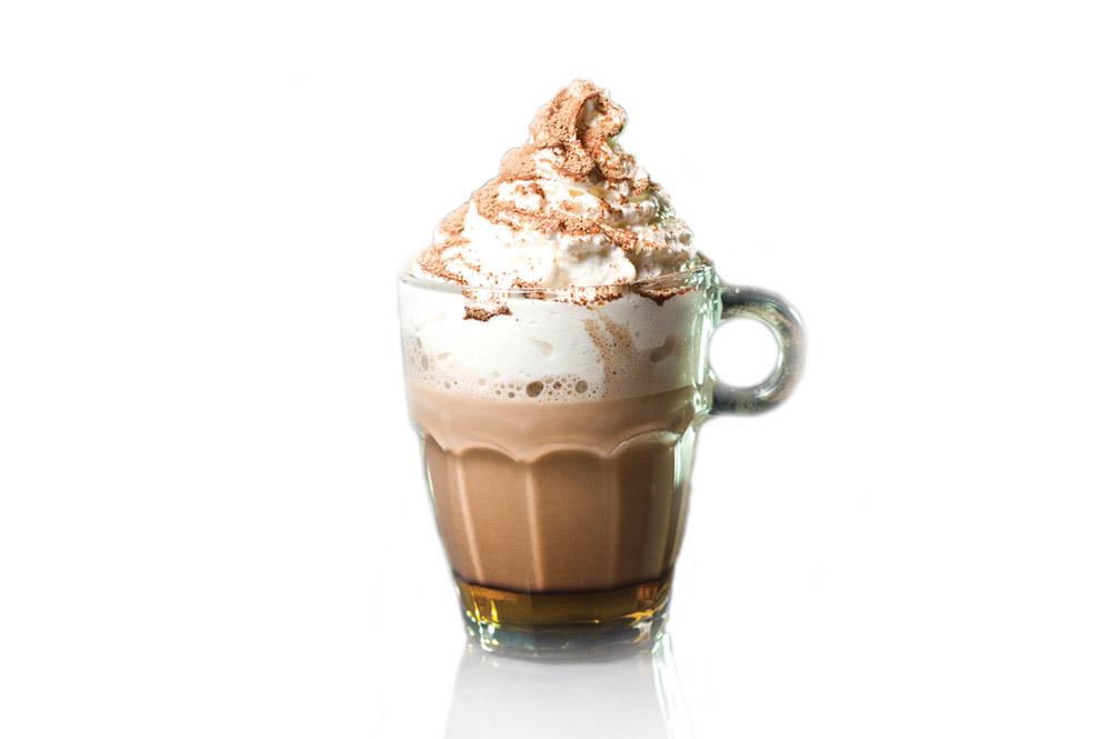 Какао с сиропом в ассортименте
